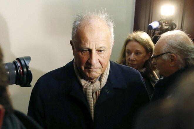 Patrice de Maistre au tribunal © Reuters