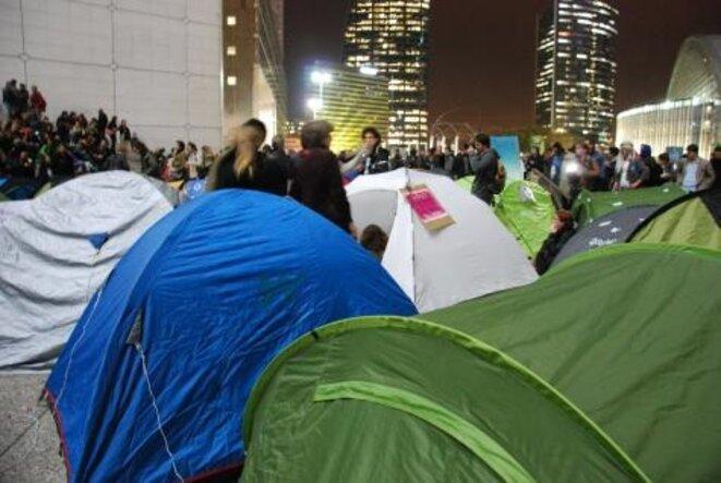 Le campement citoyen