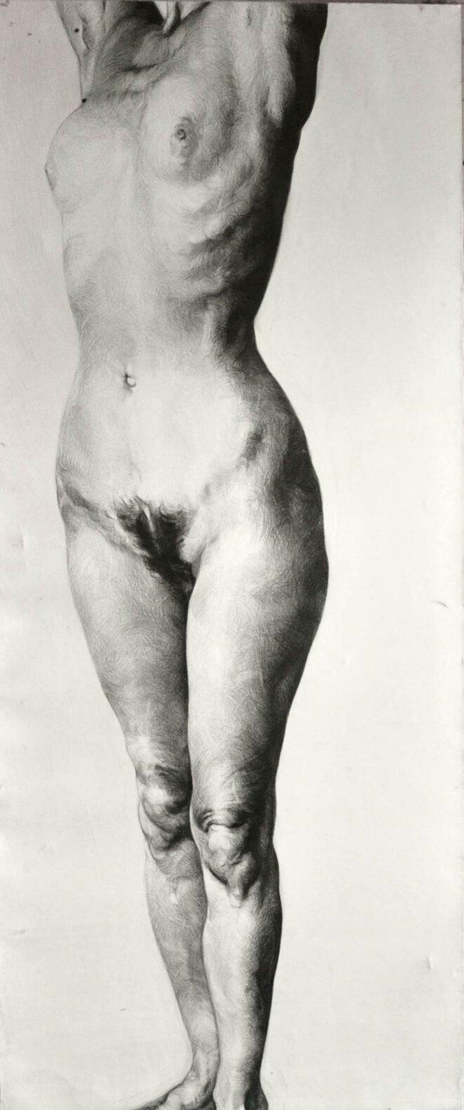Vertige (Caryatide). 1985 © Camilla Adami