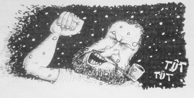 Caricature d'Arthur © Nicoulaud