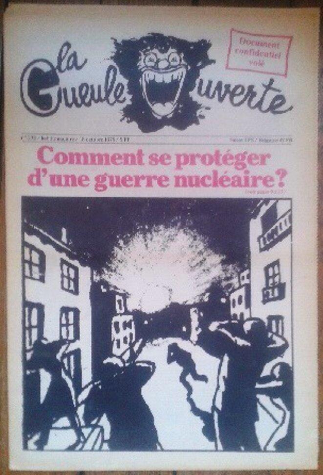 Une de la G.O. 18 oct 1978
