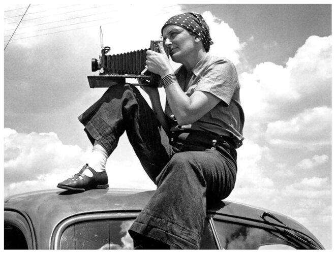 Dorothea Lange, 1936 © Paul Taylor