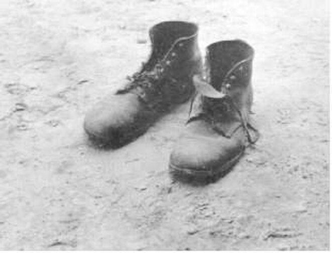 Chaussures de Floyd Burroughs © Walker Evans
