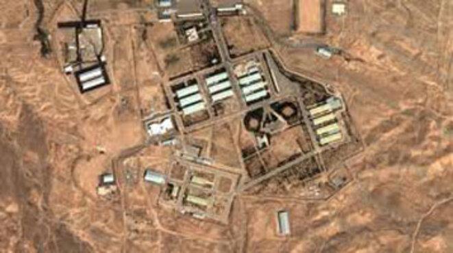 Le site militaire Parchin au sud ouest de Téhéran