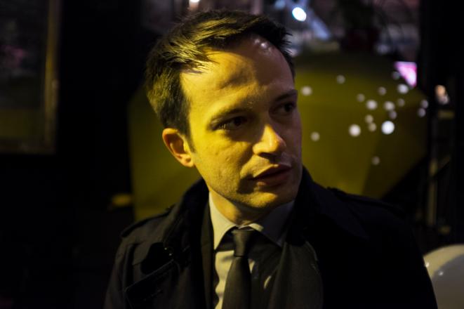 Pierre-Yves Bournazel, le 23 mars à Paris. © Nicolas Serve