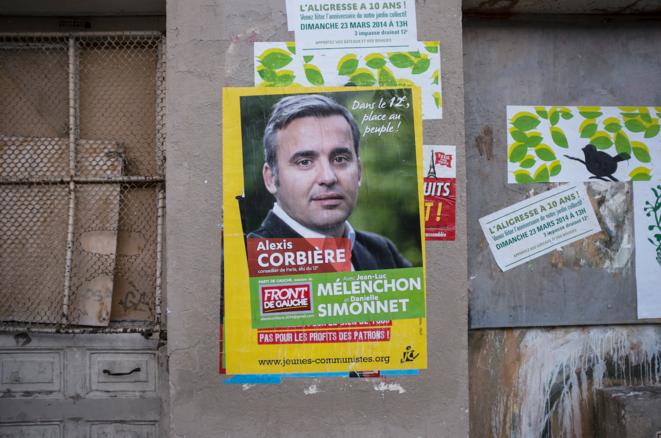 Dans le XIIe, Alexis Corbière a rassemblé 5,4 % des voix. © Nicolas Serve
