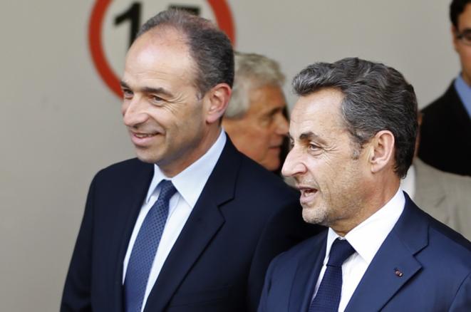 Jean-François Copé et Nicolas Sarkozy.