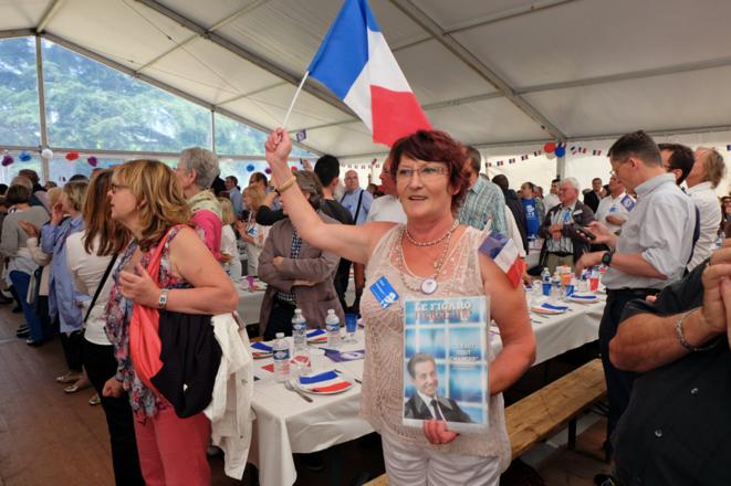 À la fête de la Violette, le 5 juillet 2014.