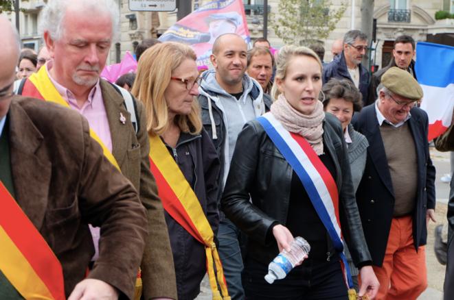 La députée FN Marion Maréchar-Le Pen. © ES