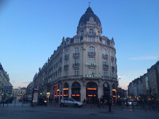 L'hôtel du Carlton de Lille. © ES