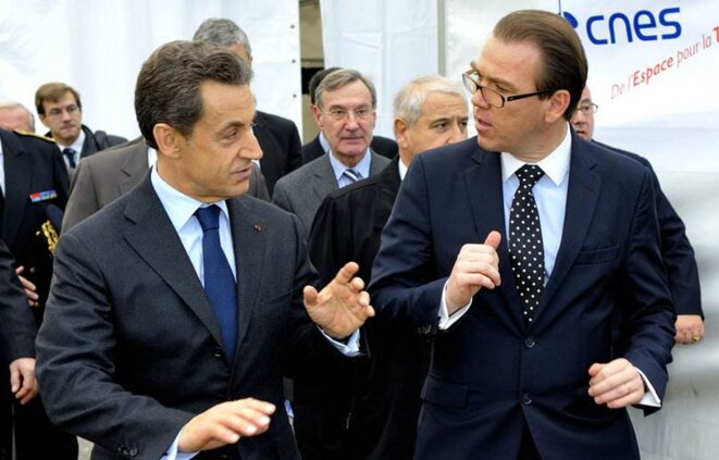 Nicolas Sarkozy et Guillaume Lambert