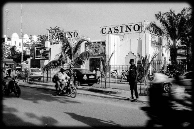 L'unique casino de Bamako, propriété de Michel Tomi. © Thomas Cantaloube