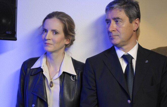 Nathalie Kosciusko-Morizet et Philippe Briand