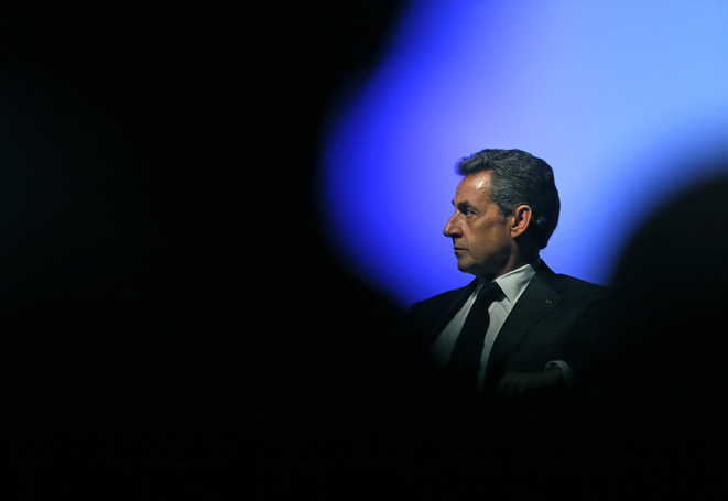 Nicolas Sarkozy à Marseille, le 5 mars.