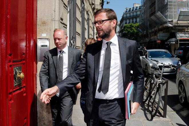 Eric Cesari et Jérôme Lavrilleux. © Reuters