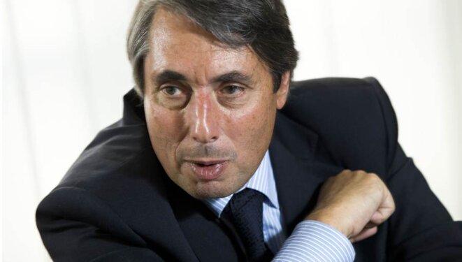 Michel Destot, futur ex-maire de Grenoble. © micheldestot.fr