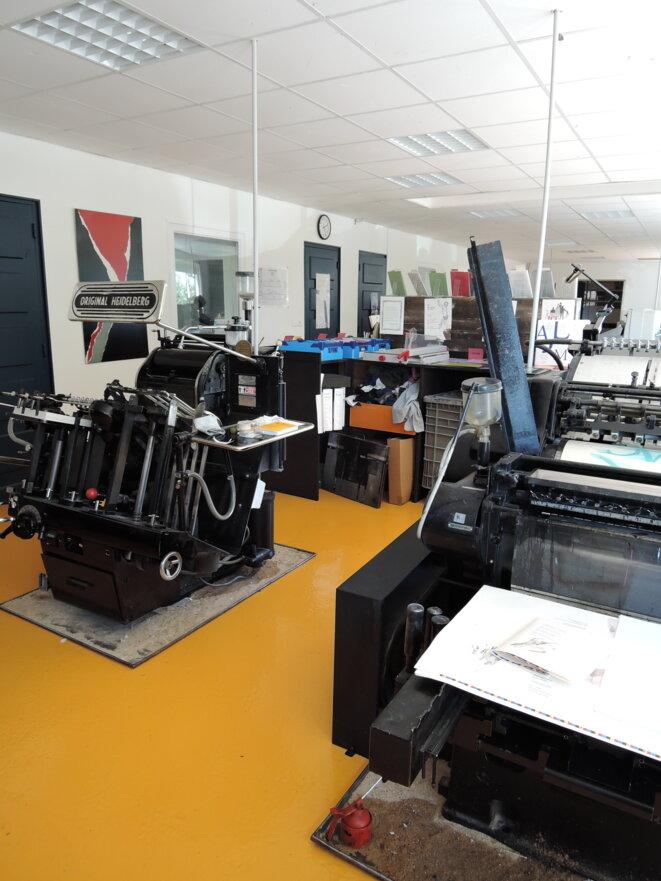L'imprimerie du Cheyne