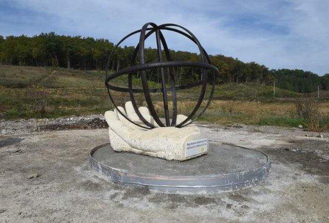 monument en mémoire de Rémi Fraisse