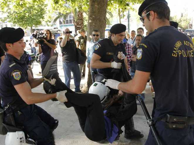 Arrestation Syntagma