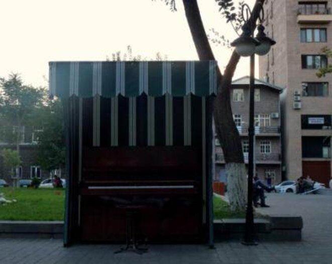 Le piano solitaire © Guillaume De Chazournes