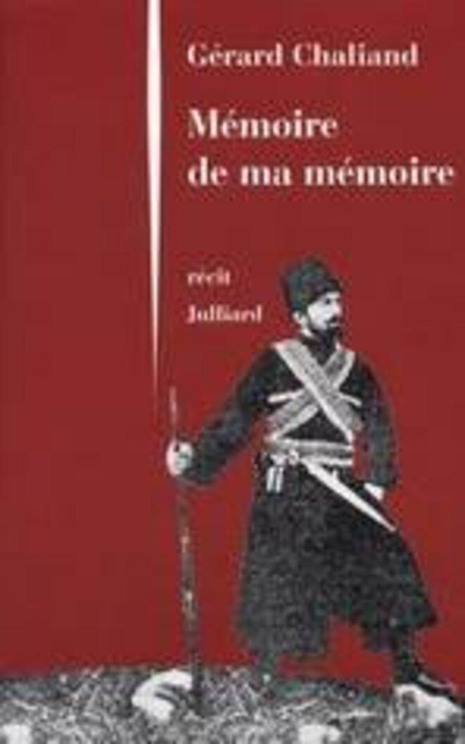 """Couverture du livre """"Mémoire de ma mémoire"""" © inconnu"""