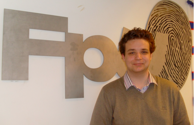 Torbjørn Weisæth, leader de la section jeune du FpU © A. Rougerie