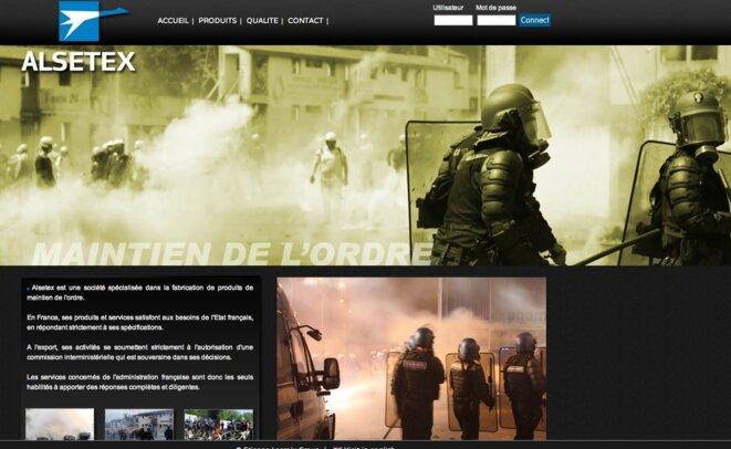 Le site de l'entreprise SAE Alsetex. © DR
