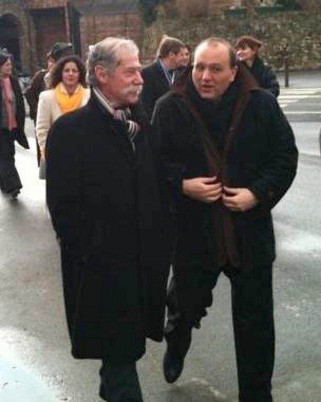 Hérault et Dray, en 2010 © Dr