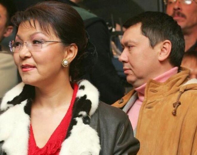 Dariga Nazarbaïev, la fille du président kazakh, avec son mari Rakhat Aliyev