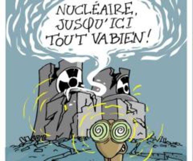 Nucléaire tout va bien © Agir pour l'environnement