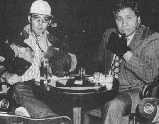 Hunter S. Thompson et Oscar Zeta Acosta