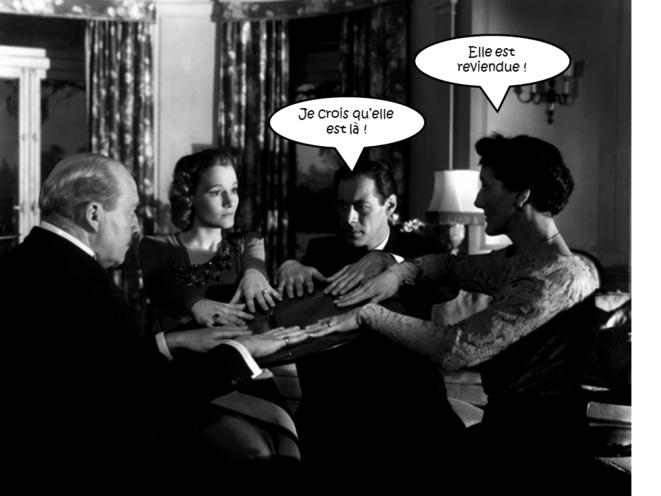 L'esprit s'amuse (1946) avec Rex Harrison © David Lean et mendiebulles