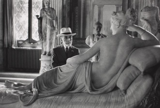 Bernard Berenson à la galerie Borghèse. 1955 © David Seymour dit Chim /Magnum Photos