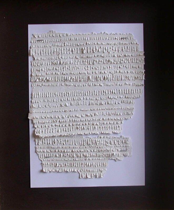 Jean Rédoulès, « Lettre»