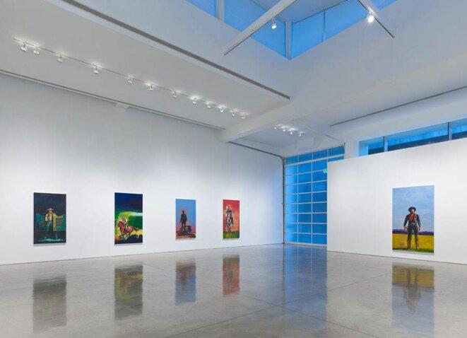 La galerie Gagosian à New York