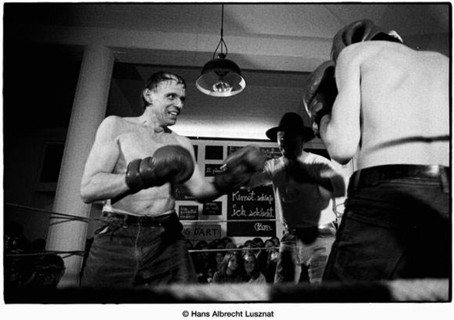 Joseph Beuys, en 1972, sur le «Ring » de Ben