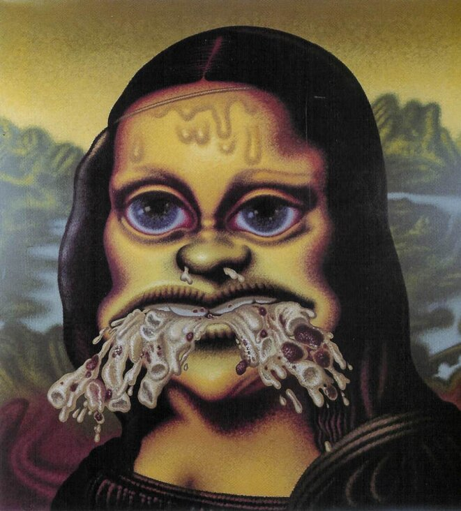 « Mona Lisa vomit des macaronis » (1995)