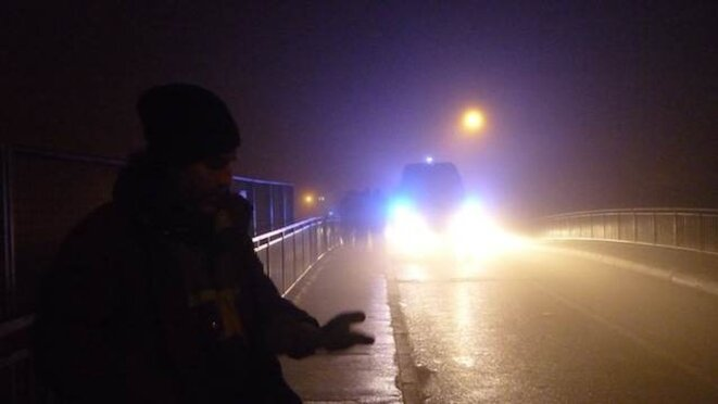 blocage du pont