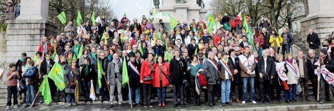 Manifestation à Nantes le 22 février