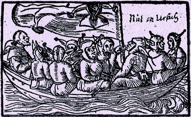 Sebastian Brants - la nef des fous (1549)