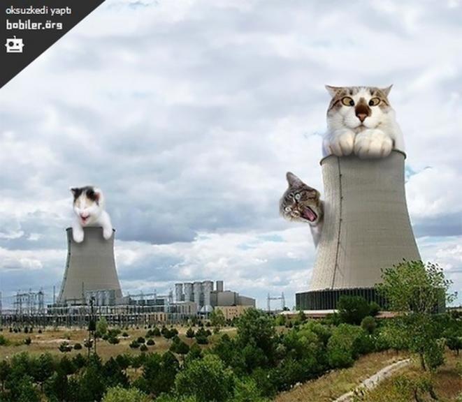 Photomontages antinucléaires turcs / source : Bobiler