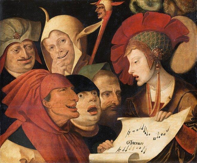 """""""Chanson des fous"""" / artiste anonyme flamand"""