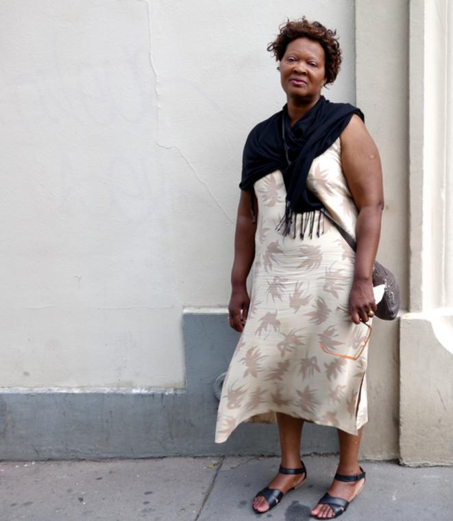 Angèle, de Creil, 60 ans, 27 ans d'ancienneté, diabétique et sous tension