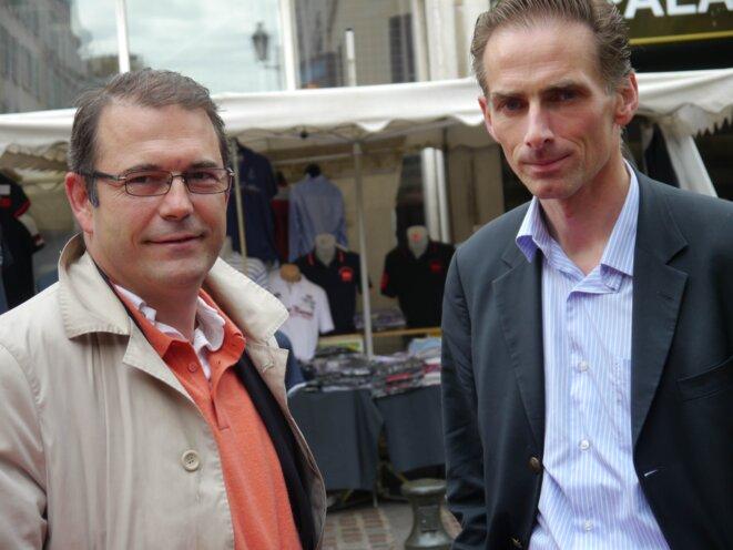Arnaud De Courson et Loïc Leprince-Ringuet