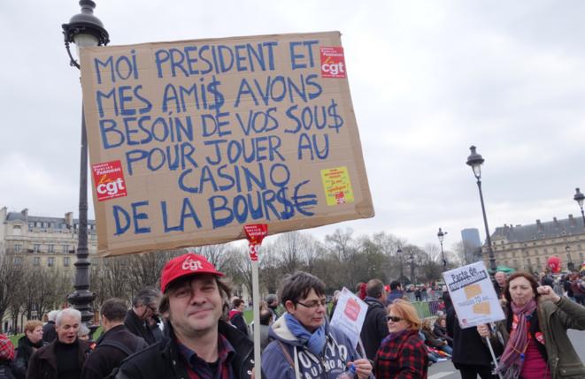 Paris, Invalides, 18 mars 2014.