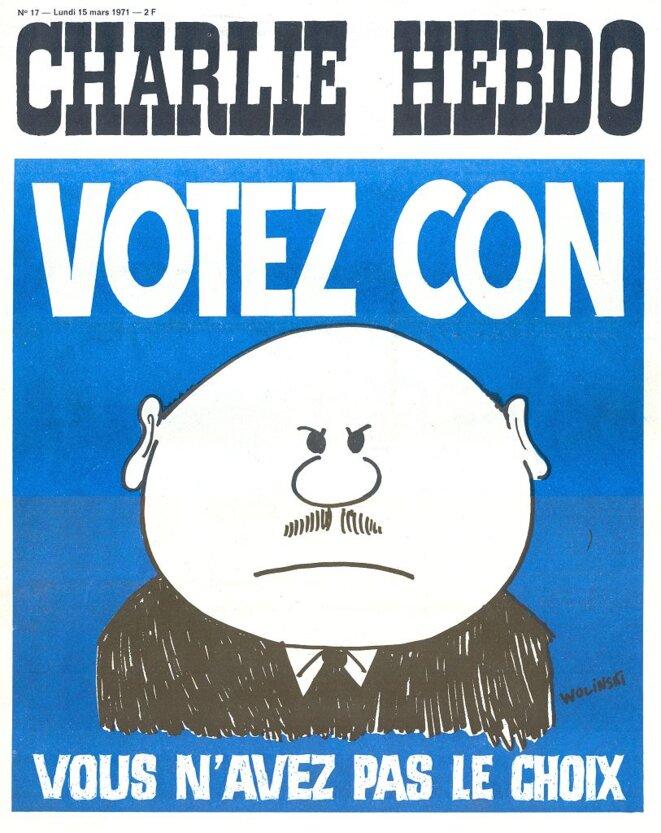 Charlie Hebdo en 1971
