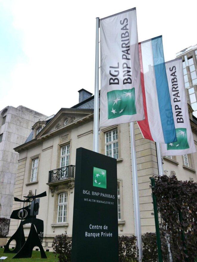 Le siège de la BGL-BNP, à Luxembourg.