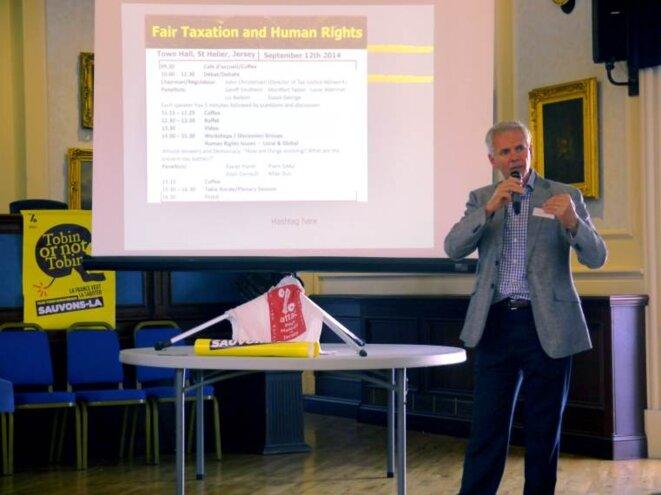 John Christensen, fondateur du Tax justice network