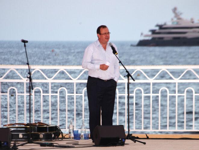 Jürg Schmid, dirigeant de pasche Monaco, en juin 2010 © DR