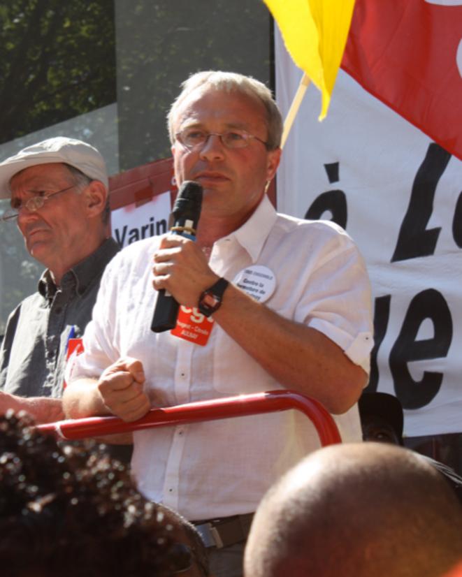 Jean-Pierre Mercier, juillet 2012 © Ellen Salvi